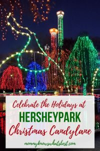 What is Hersheypark Christmas Candylane   Learn about the holiday celebrations at Hersheypark in November and December  Christmas lights at Hersheypark