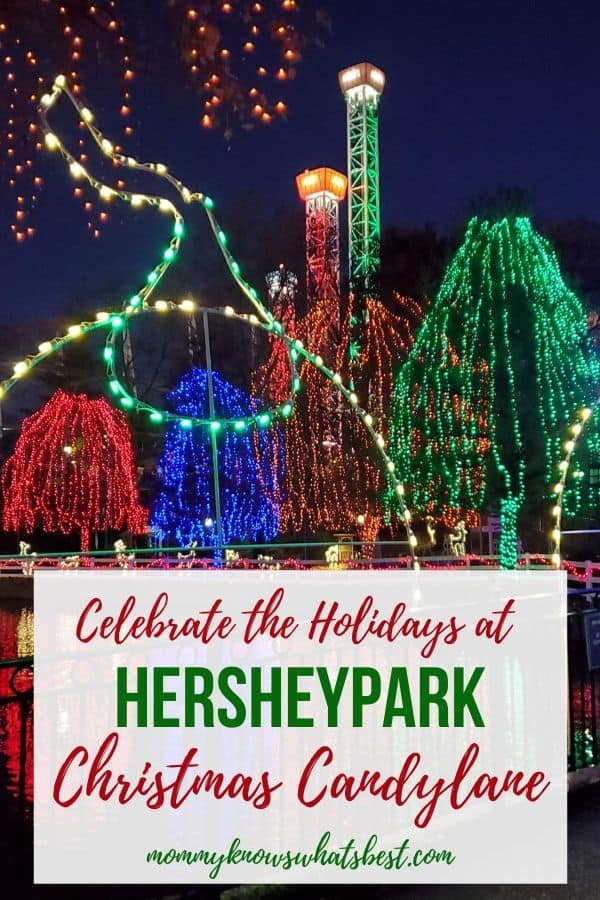 What is Hersheypark Christmas Candylane | Learn about the holiday celebrations at Hersheypark in November and December| Christmas lights at Hersheypark