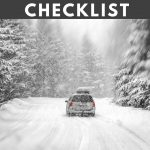 Winter Emergency Car Kit Checklist