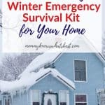 Winter Emergency Survival Kit for Home