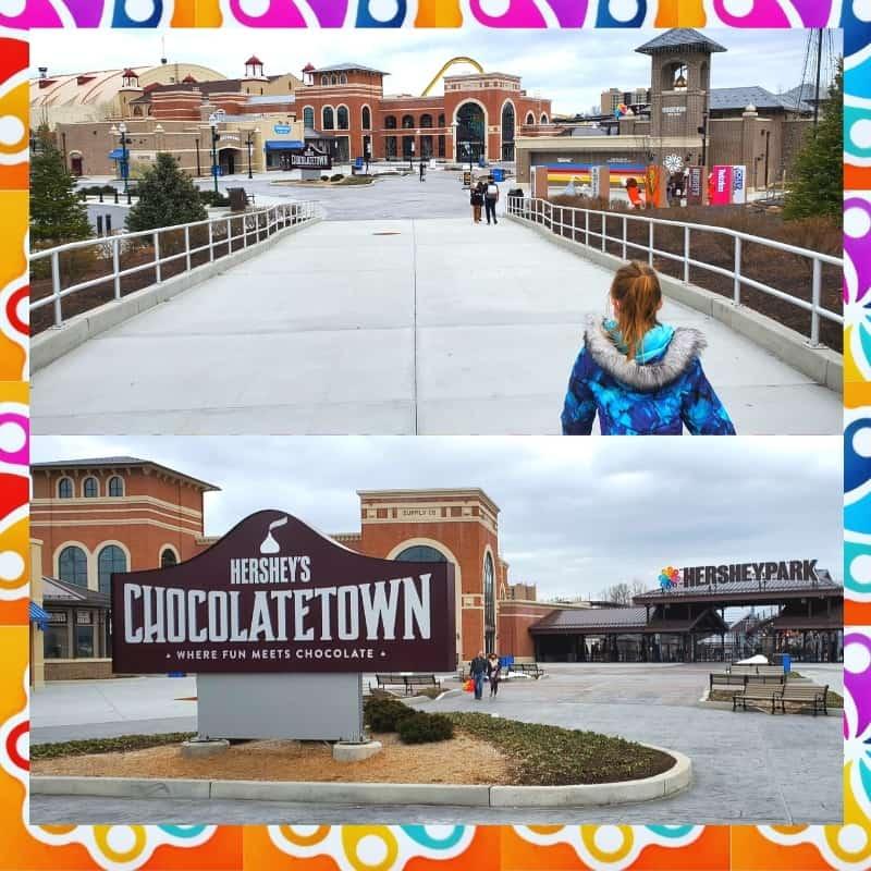 hersheys chocolatetown from chocolate world
