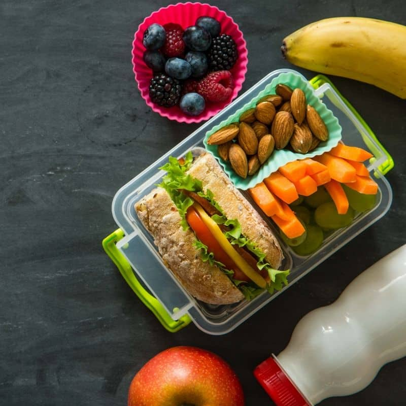 meal prep school lunch planning