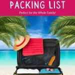pack for Beach Vacation Packing List