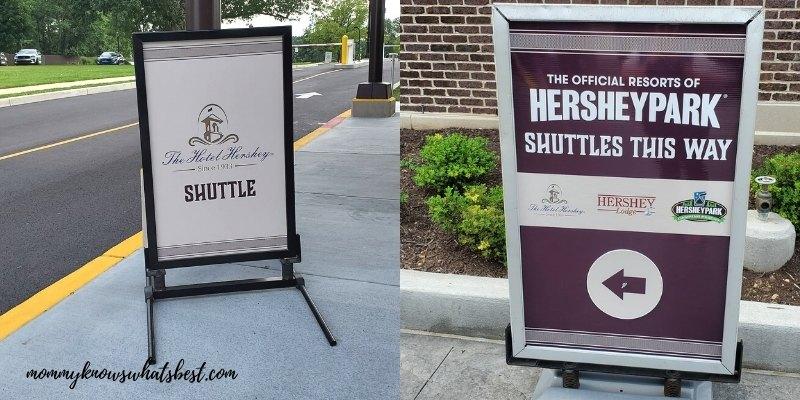 the hotel hershey hersheypark shuttle