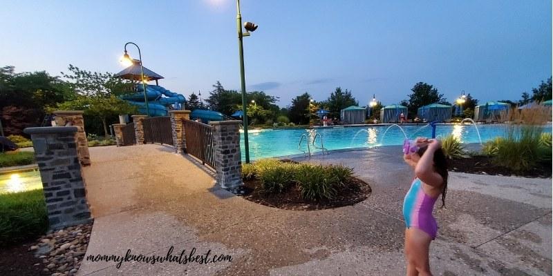the hotel hershey outside pool