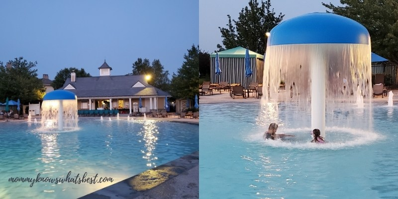 the hotel hershey pools